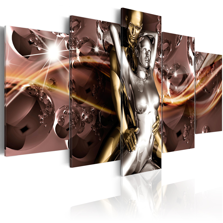 Wandbilder xxl Erotik Abstrakt Leinwand Bilder Schlafzimmer Erotik ...