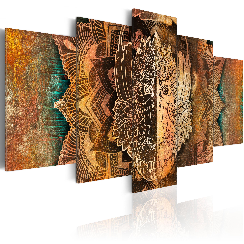 leinwand bilder xxl kunstdruck bild abstrakt affe n a 0051 b n ebay. Black Bedroom Furniture Sets. Home Design Ideas