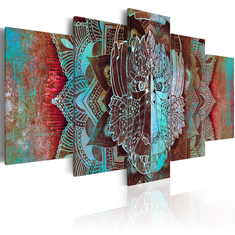 Leinwand bilder xxxl kunstdruck wandbild abstrakt affe for Bilder xxxl
