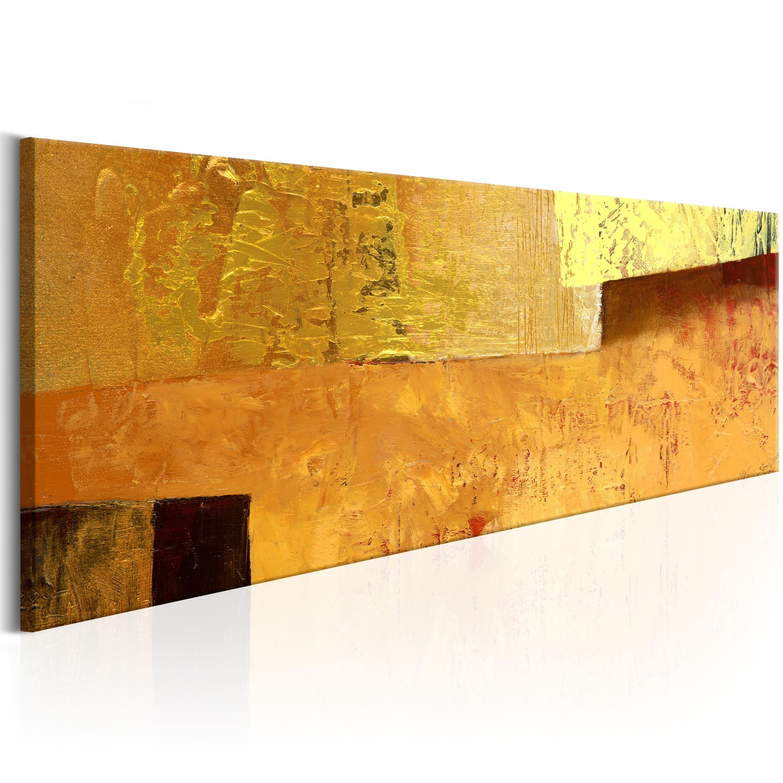 Abstrakte Bilder Auf Leinwand wandbilder abstrakt gold leinwand bilder drucke wohnzimmer a a