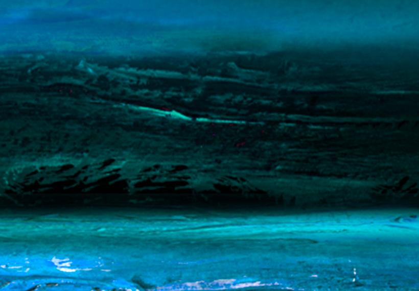 ABSTRAKT MEER LANDSCHAFT Wandbilder xxl Bilder Vlies Leinwand a-A-0285-b-b