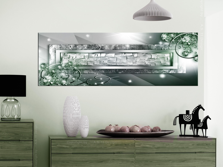 ABSTRAKT DIAMANT GLANZ Wandbilder xxl Bilder Vlies Leinwand a-A-0318-b-b