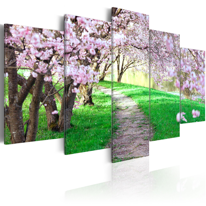 Leinwand bilder xxxl kunstdruck wandbild natur for Bilder xxxl
