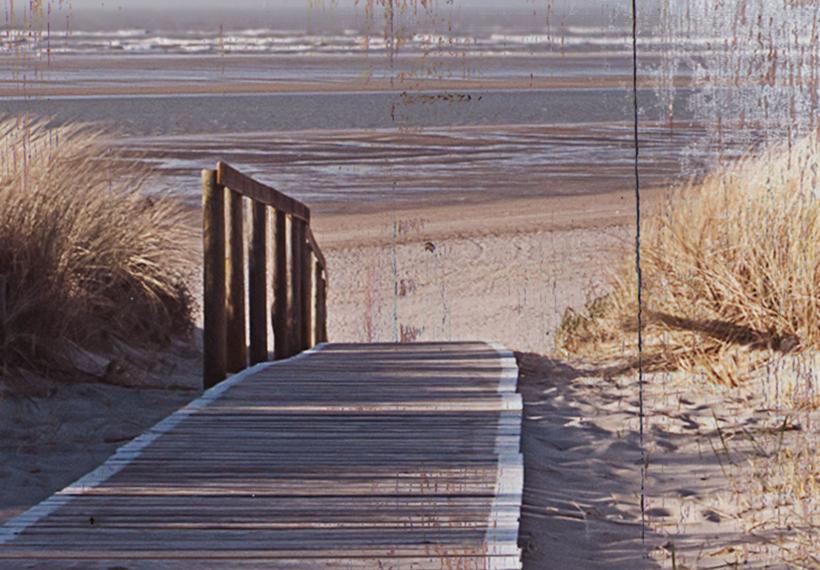 MEER STRAND HORIZONT Wandbilder xxl Bilder Vlies Leinwand c-C-0048-b-b