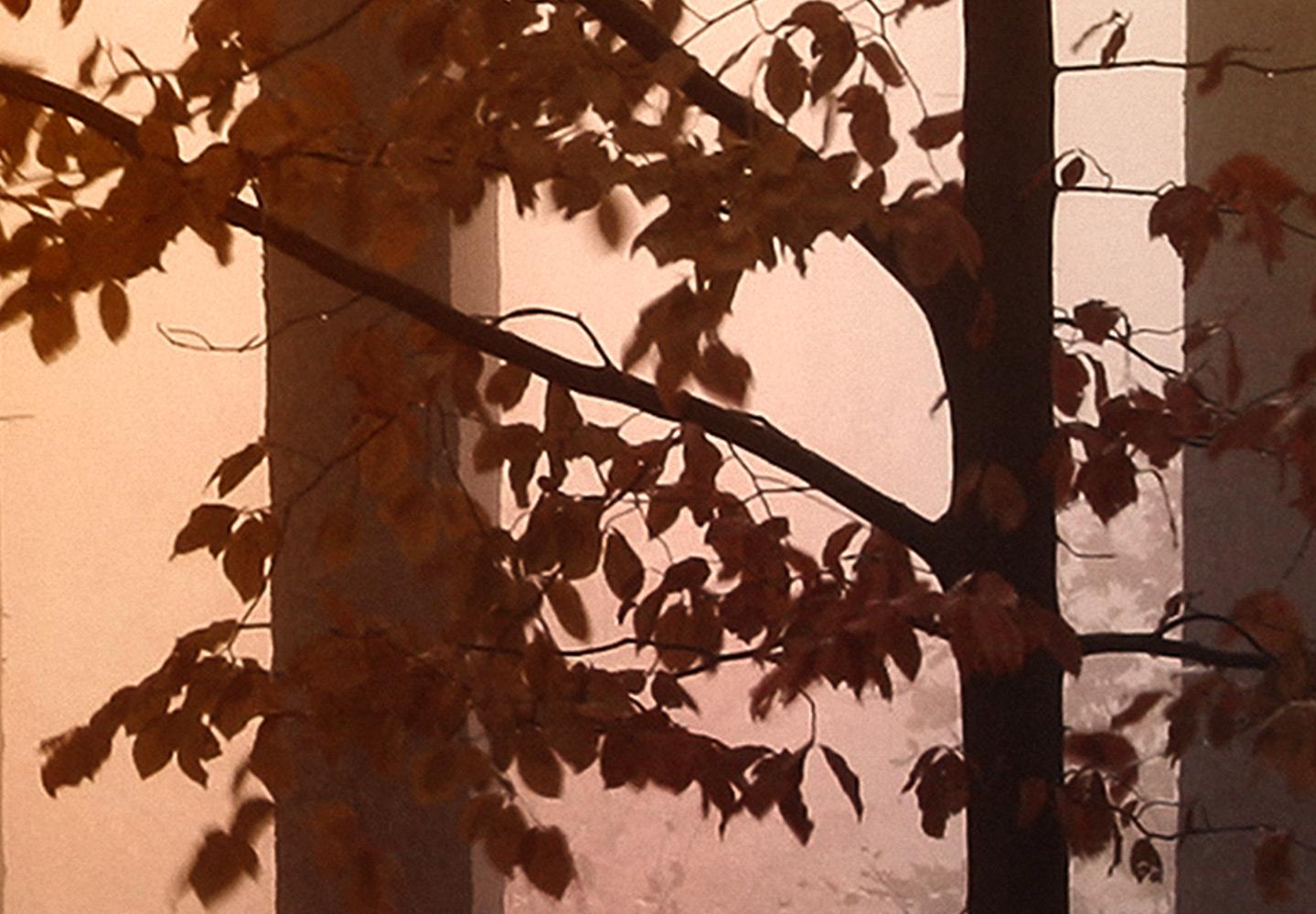 WALD TIERE HIRSCH BAUM NATUR Wandbilder xxl Bilder Vlies Leinwand c-C-0236-b-n