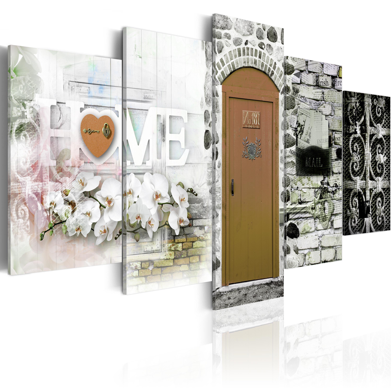 leinwand bilder xxxl kunstdruck wandbild home collage vintage n c 0019 b n ebay. Black Bedroom Furniture Sets. Home Design Ideas