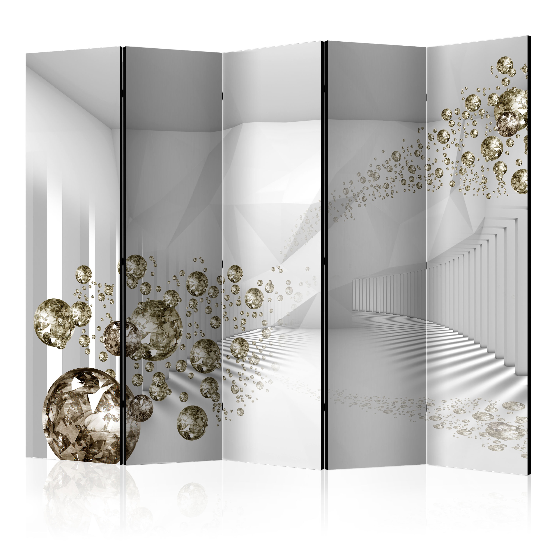 Decorative Photo Folding Screen Wall Room Divider Abstract