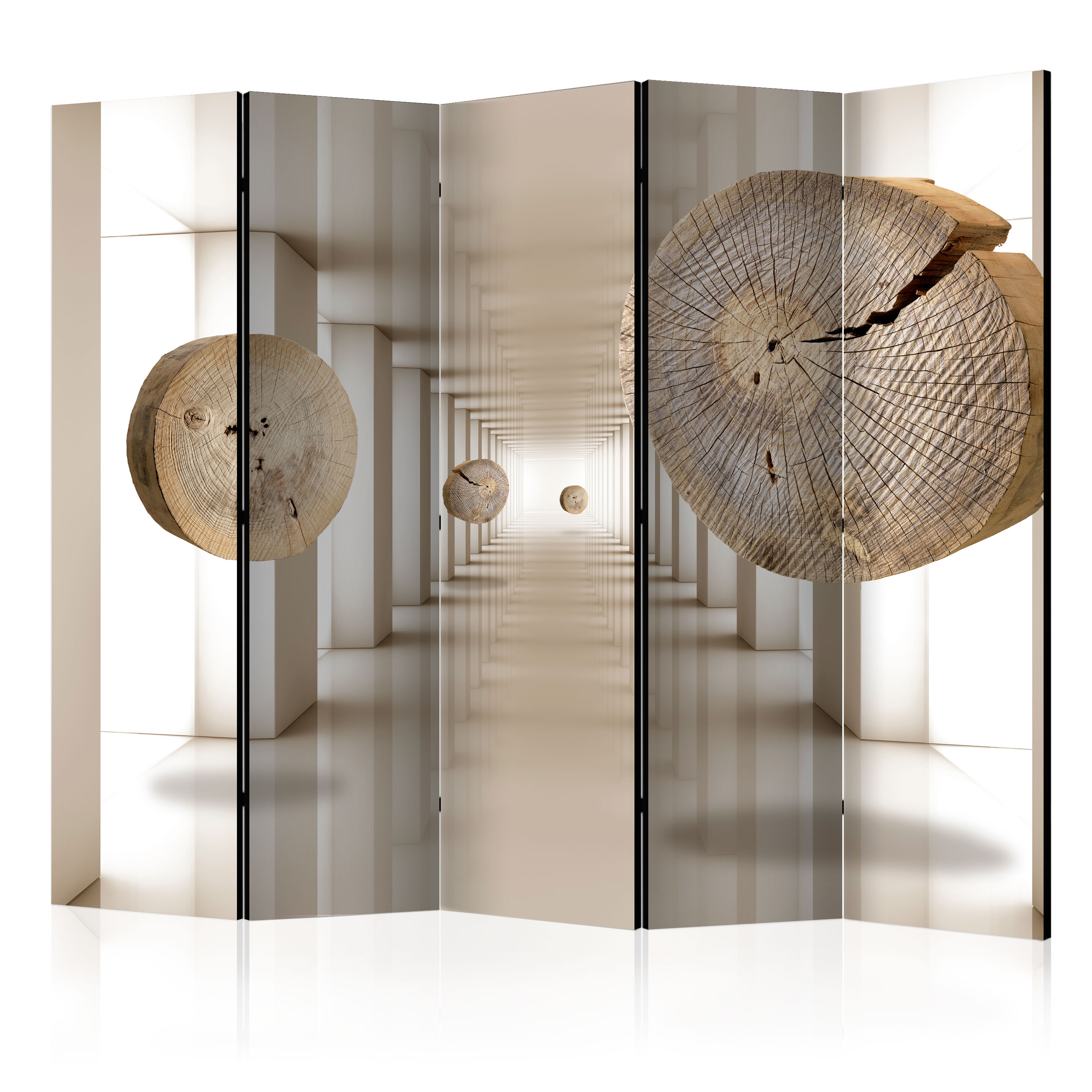 decorative photo folding screen wall room divider abstract. Black Bedroom Furniture Sets. Home Design Ideas