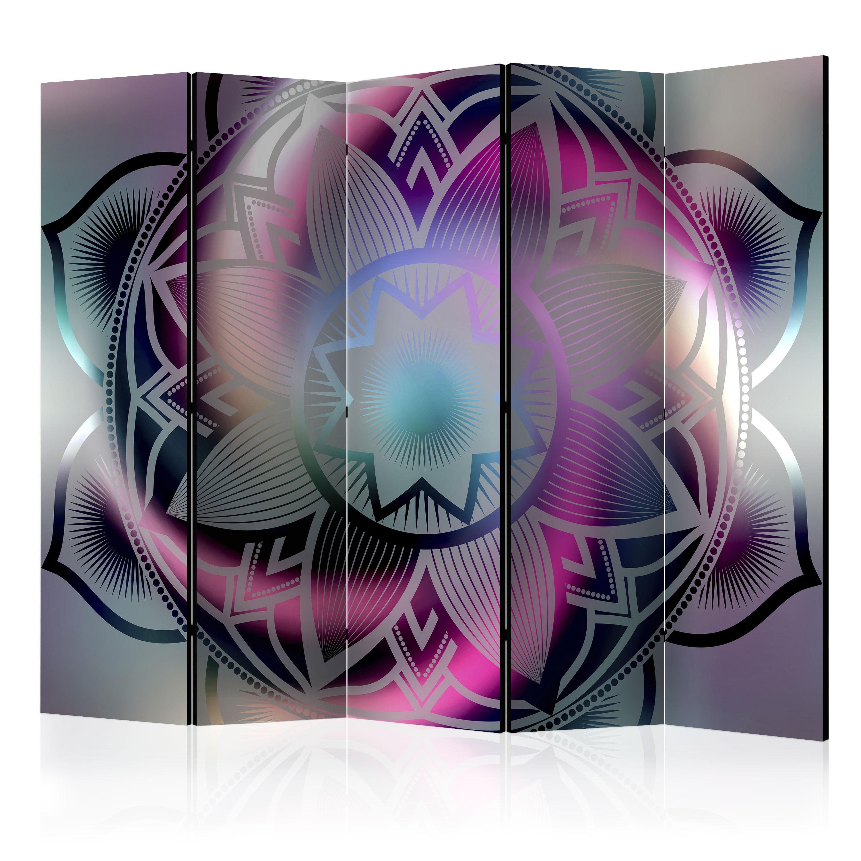 deko paravent raumteiler trennwand foto ethno mandala 10 varianten 2 formate ebay. Black Bedroom Furniture Sets. Home Design Ideas