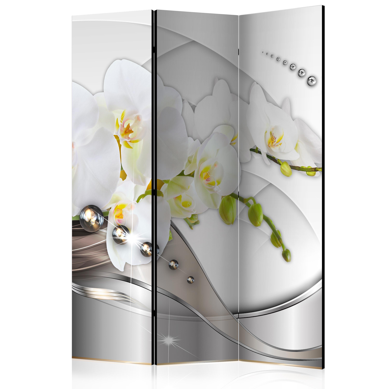 deko paravent raumteiler trennwand foto abstrakt blumen 10. Black Bedroom Furniture Sets. Home Design Ideas