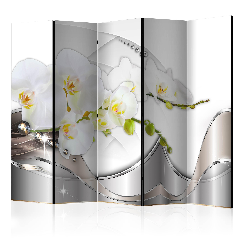 deko paravent raumteiler trennwand foto abstrakt blumen 10 varianten 2 formate ebay. Black Bedroom Furniture Sets. Home Design Ideas