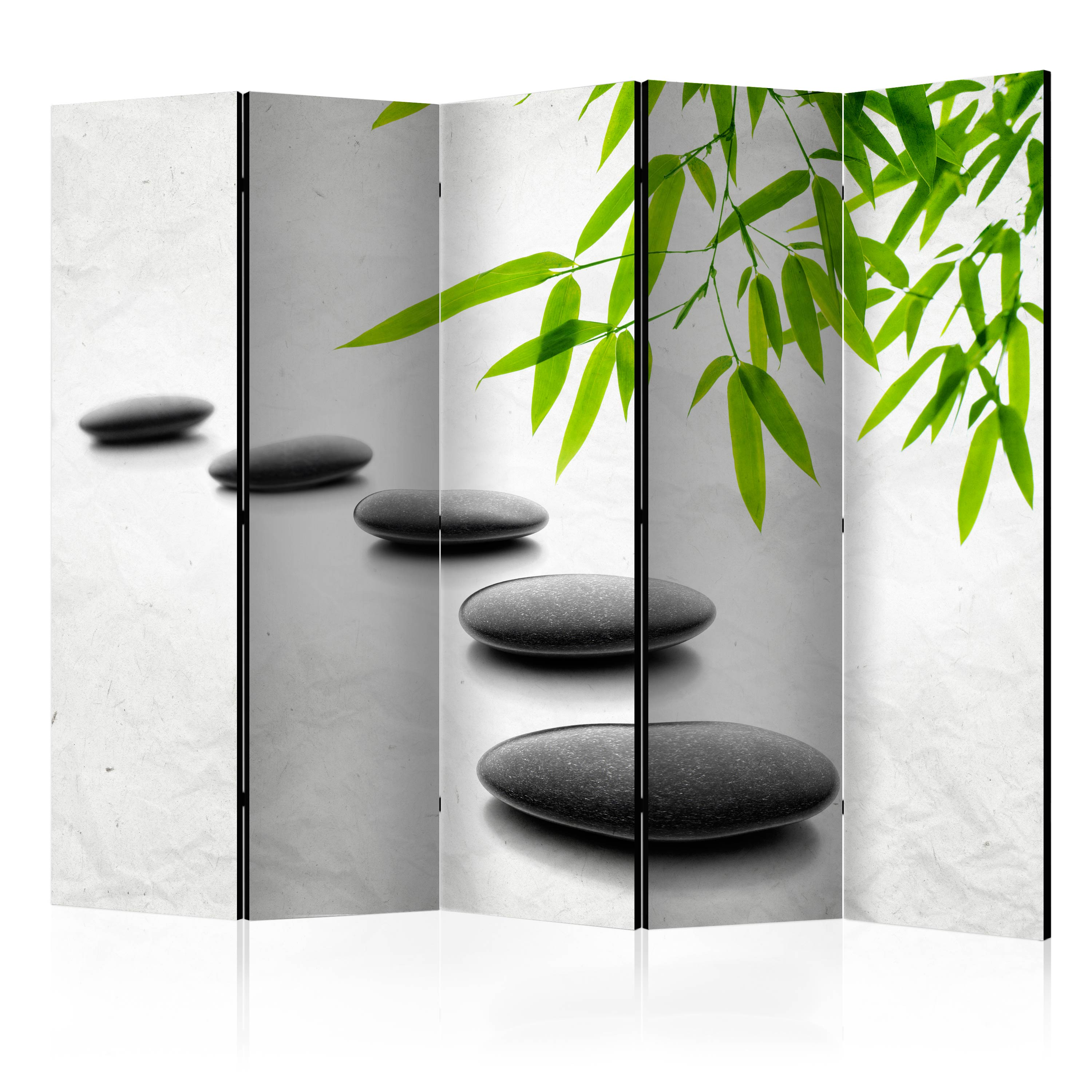 deko paravent raumteiler trennwand spa zen natur steine 10 varianten 2 formate ebay. Black Bedroom Furniture Sets. Home Design Ideas