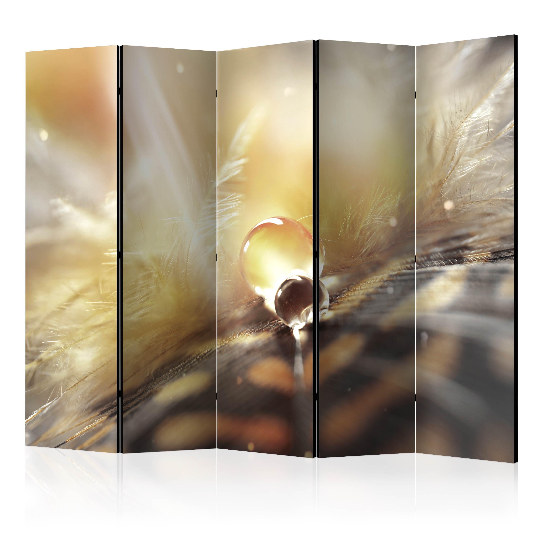 deko paravent raumteiler trennwand feder makro boho 10 varianten 2 formate ebay. Black Bedroom Furniture Sets. Home Design Ideas