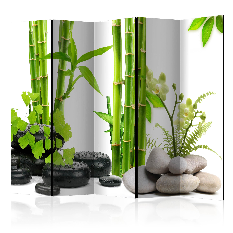 deko paravent raumteiler bambus spa trennwand spanische wand 2