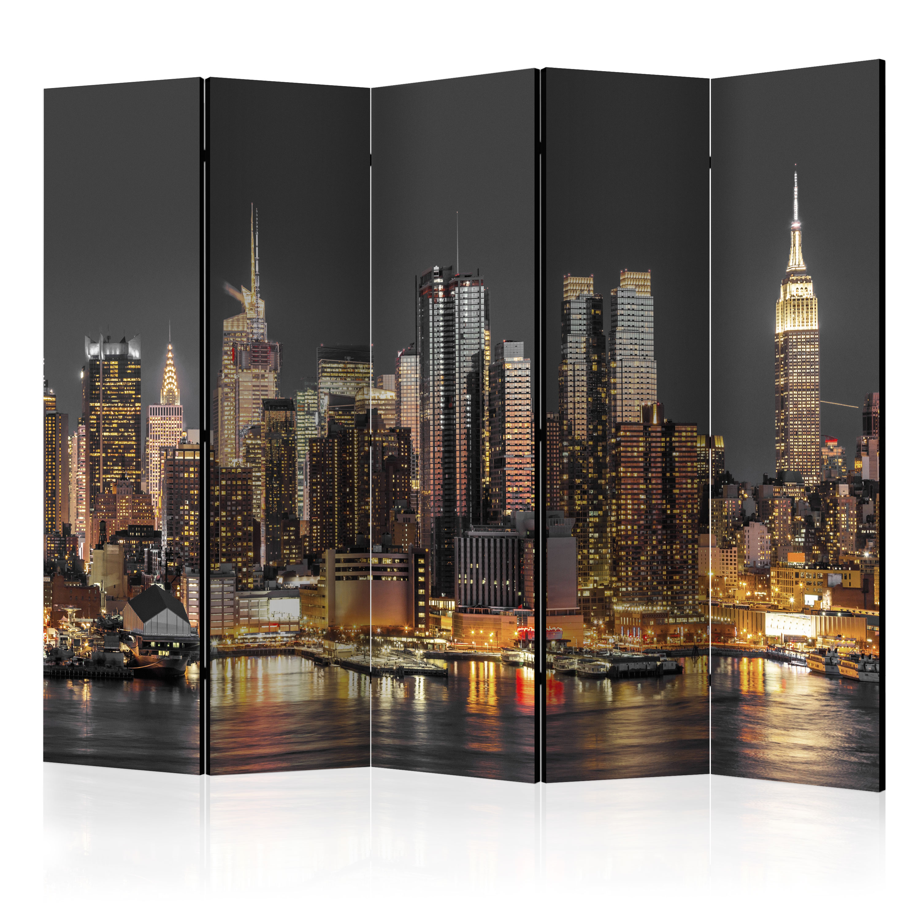 deko paravent raumteiler trennwand foto new york stadt 10 varianten 2 formate ebay. Black Bedroom Furniture Sets. Home Design Ideas