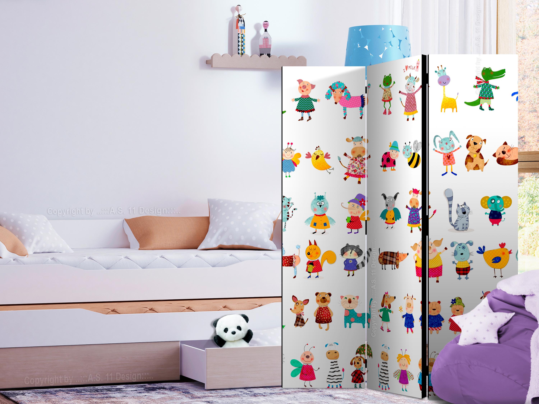 Raumteiler Fuer Kinder Deko Paravent Trennwand Kinderzimmer 2