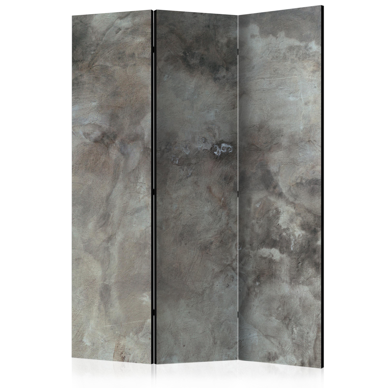 Folding Screen Decorative Photo Folding Screen Wall Room Divider Stone Beton Loft