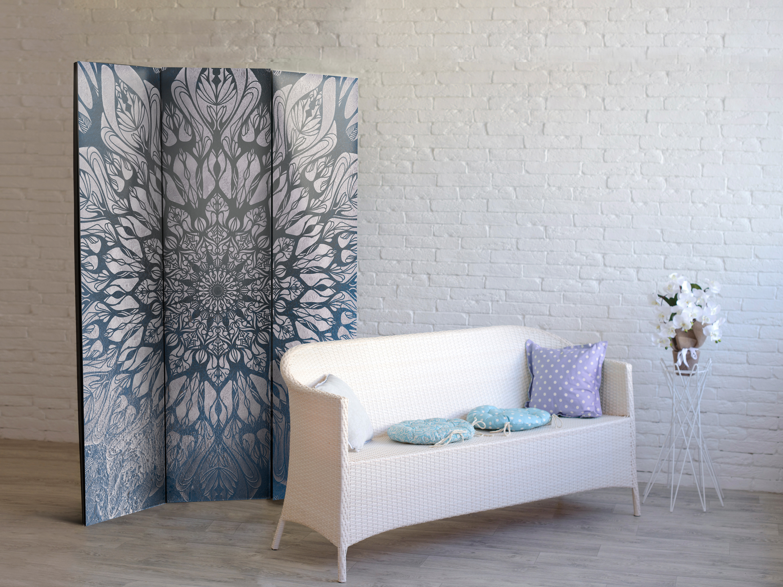 Deko Paravent Raumteiler Trennwand Spanische Wand Mandala Orient 2 Formate 0661