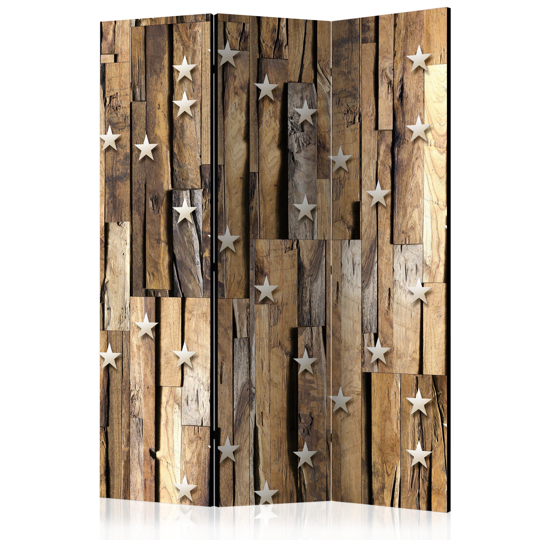 Deko Paravent Raumteiler Trennwand Foto Holz Textur 10 Deko