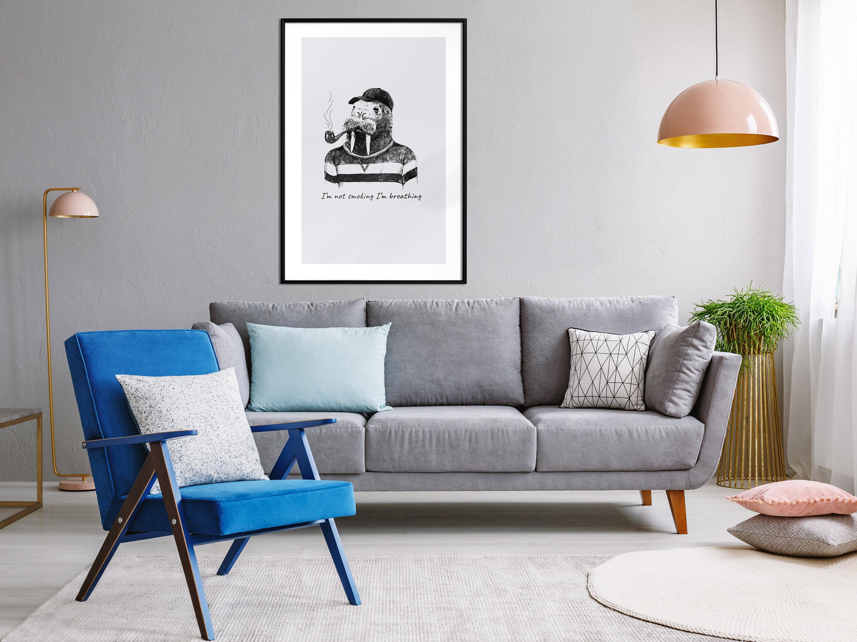 Poster mit Rahmen Bilder gerahmte Wandbild Kunstdruck Bilderrahmen g-C-0140-ao-a