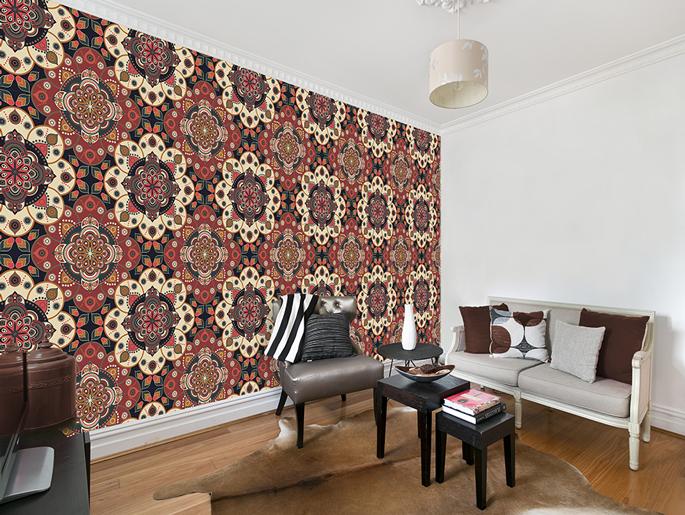 Ornament Tapete Schlafzimmer : ... TAPETE ROLLE! 3 Motive zur Auswahl ...