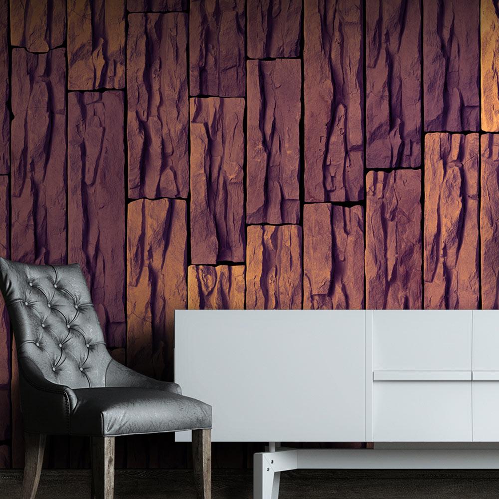original puro tapete 10m tapetenmuster ohne wiederholung steine f a 0312 j b ebay. Black Bedroom Furniture Sets. Home Design Ideas
