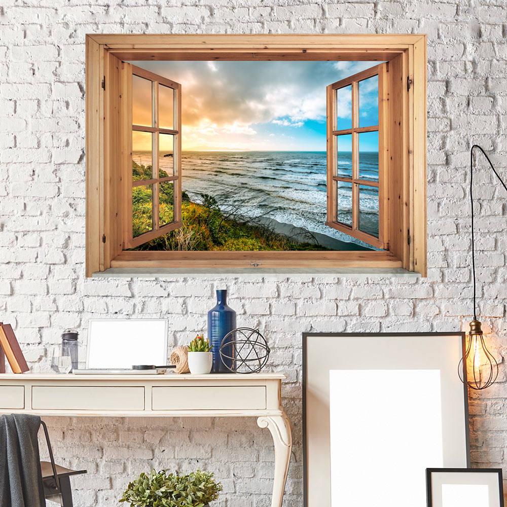3d wandillusion wandbild fototapete poster xxl. Black Bedroom Furniture Sets. Home Design Ideas