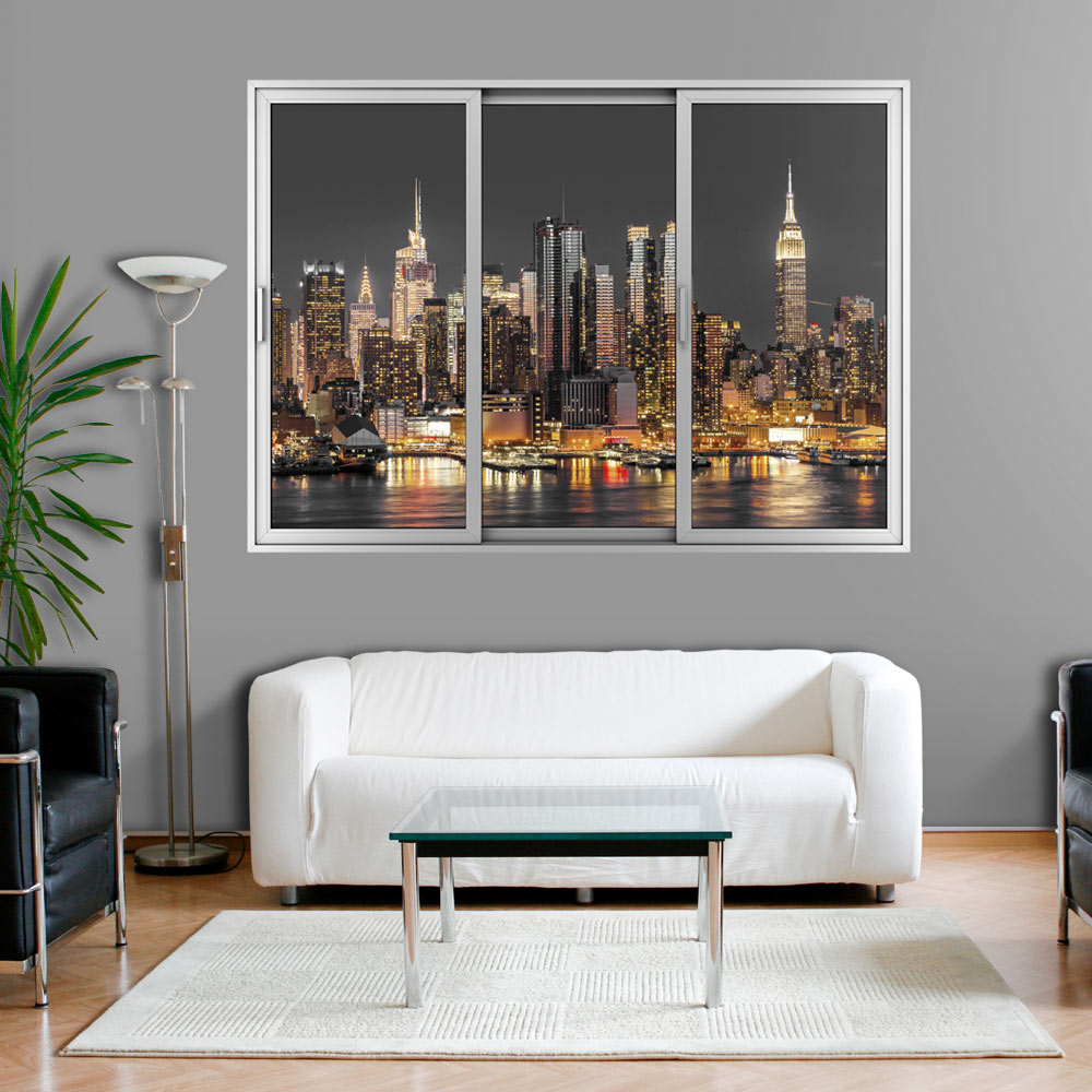 3d wandillusion wandbild fototapete poster xxl. Black Bedroom Furniture Sets. Home Design Ideas