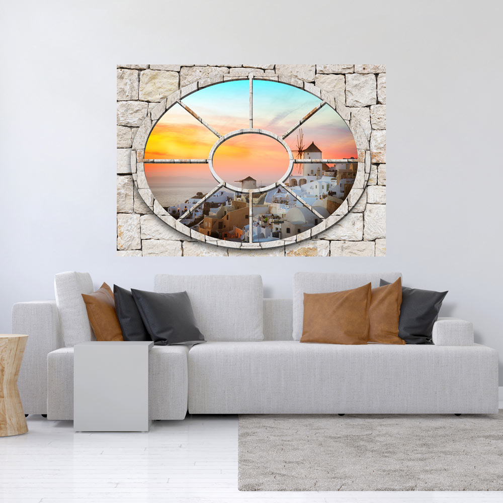 3d wall illusion wallpaper mural photo print a window view for 3d wallpaper for walls ebay