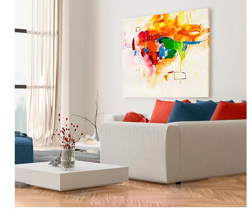 bunte wandbilder das festival der farben bei ihnen zu hause. Black Bedroom Furniture Sets. Home Design Ideas