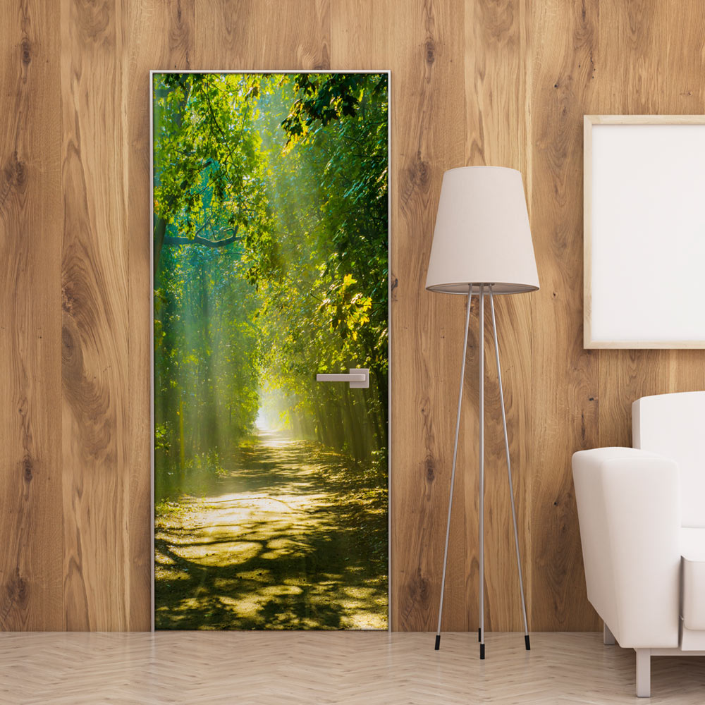 Fotomurale per porta - Sunny Avenue 100X210 cm