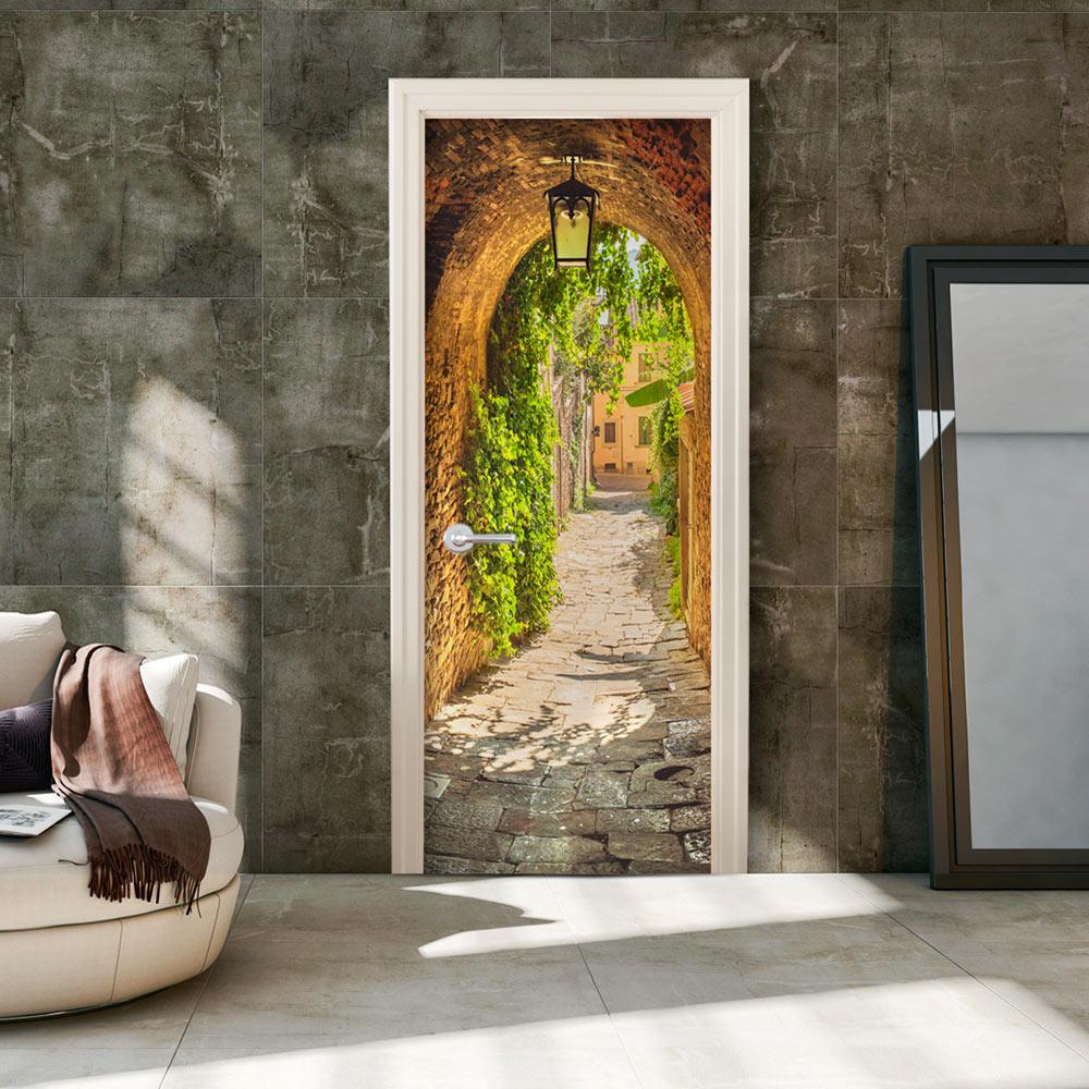Fotomurale per porta - Alley in Italy 80X210 cm
