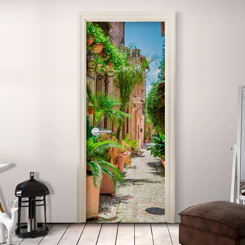 Fotomurale per porta - Summer Walk 100X210 cm