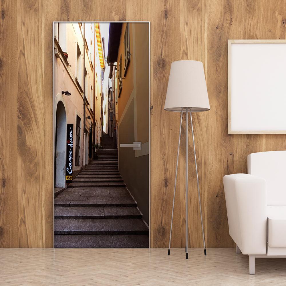 Fotomurale per porta - Summer Alley 100X210 cm