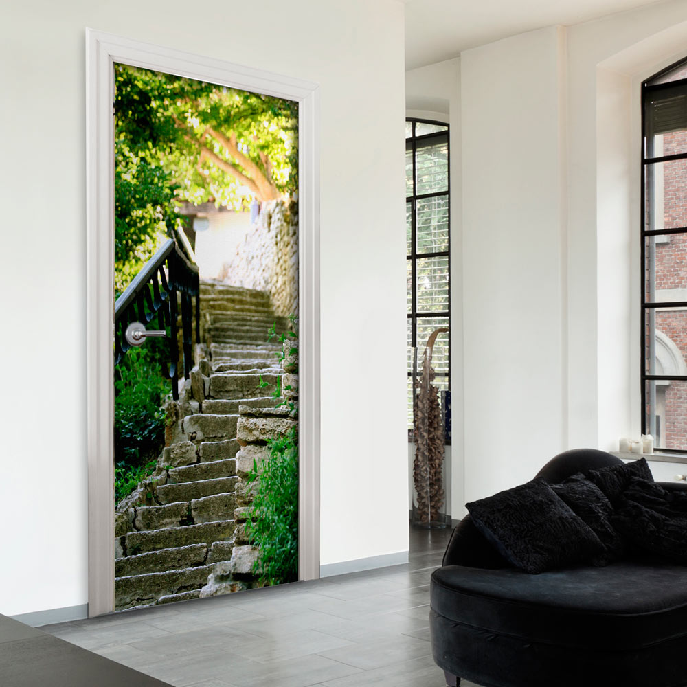 Fotomurale per porta - Stony Stairs 70X210 cm