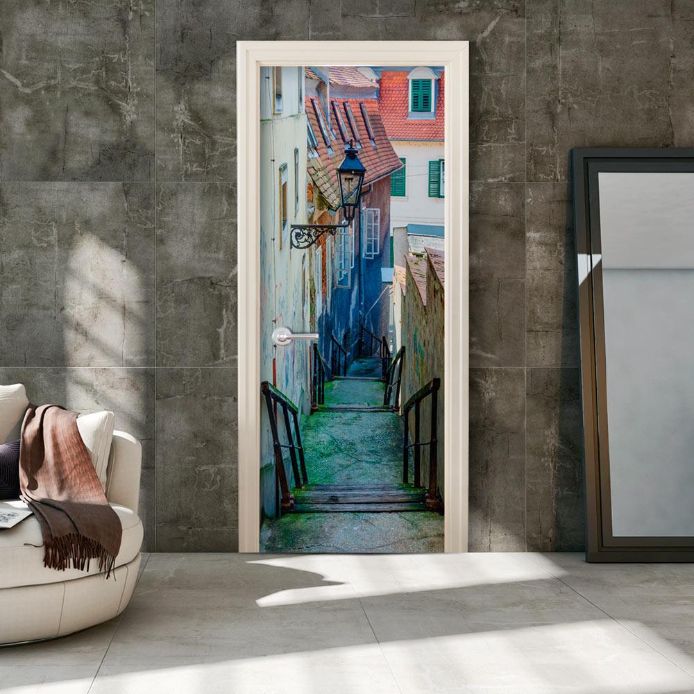 Fotomurale per porta - Croatian Alley 90X210 cm
