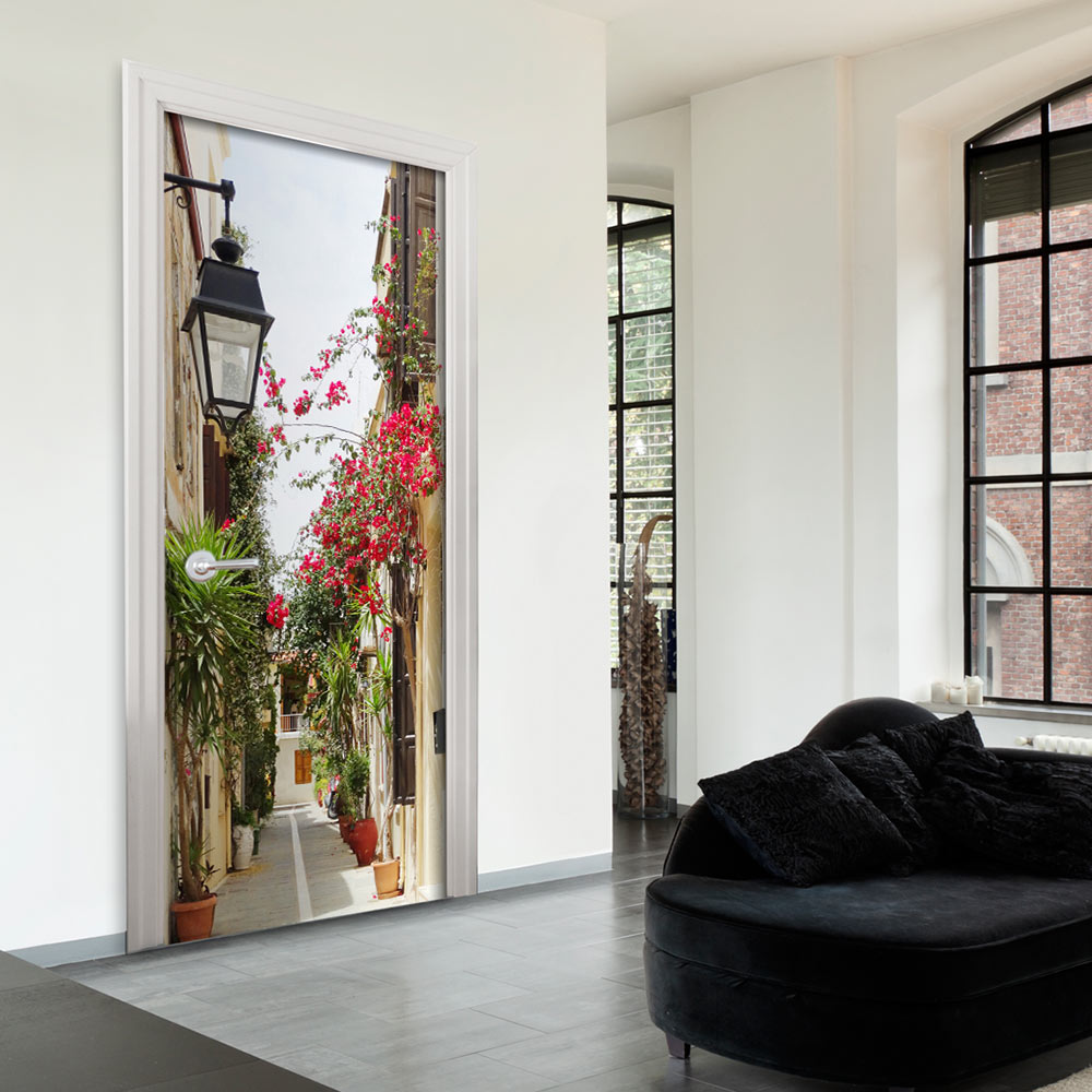 Fotomurale per porta - Charming Avenue 90X210 cm
