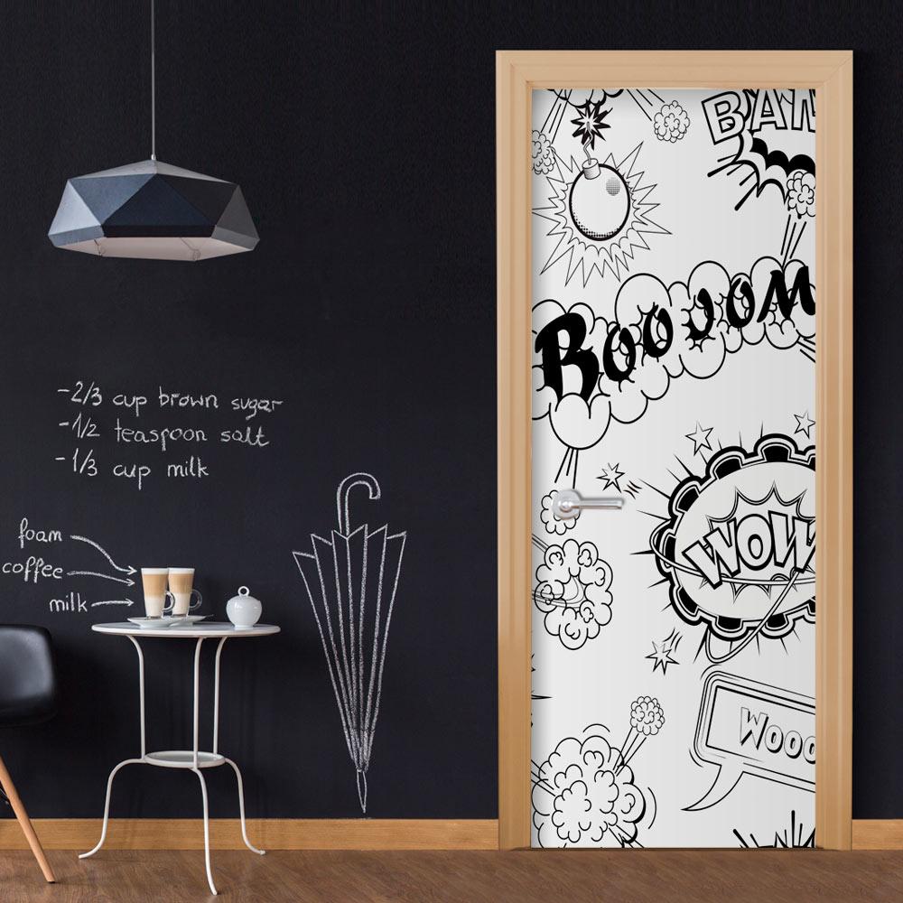 Fotomurale per porta - Comic Style 90X210 cm