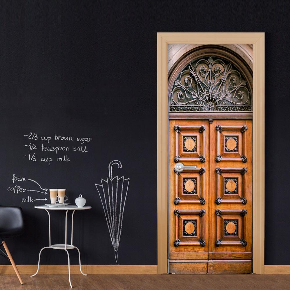 Fotomurale per porta - Antique Doors  90X210 cm