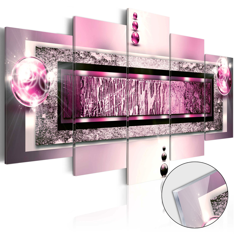 Quadri su vetro acrilico - Cyclamen Dream [Glass] 200X100 cm