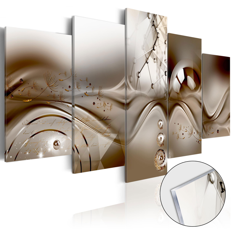 Quadri su vetro acrilico - Artistic Disharmony [Glass] 200X100 cm