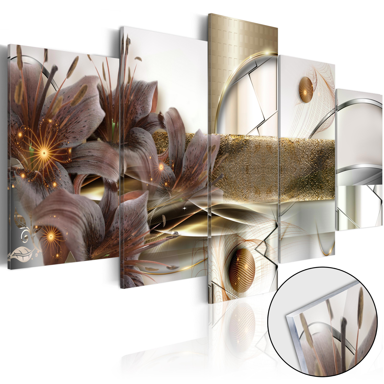 Quadri su vetro acrilico - The Garden of Space [Glass] 200X100 cm