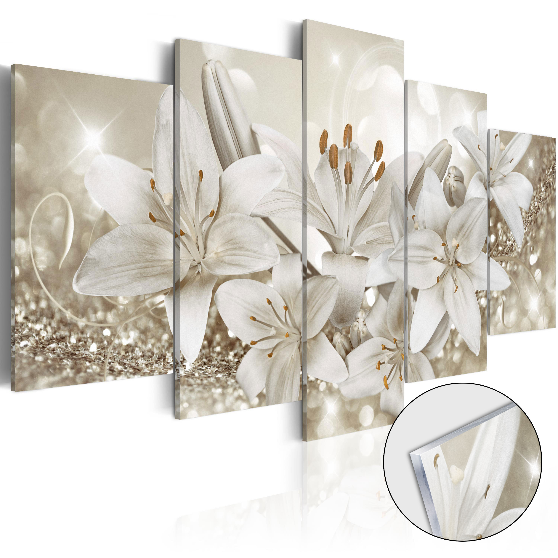 Quadri su vetro acrilico - Queen of Winter [Glass] 100X50 cm