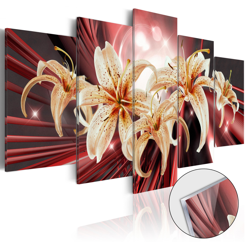Quadri su vetro acrilico - The Magic of Passion [Glass] 100X50 cm