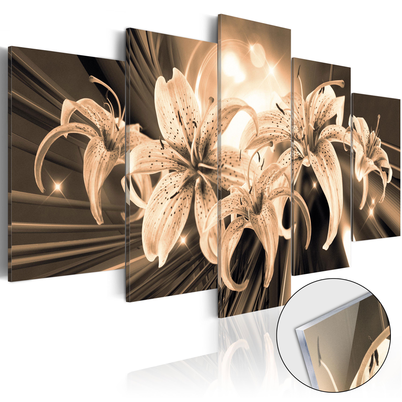 Quadri su vetro acrilico - Bouquet of Memories [Glass] 100X50 cm