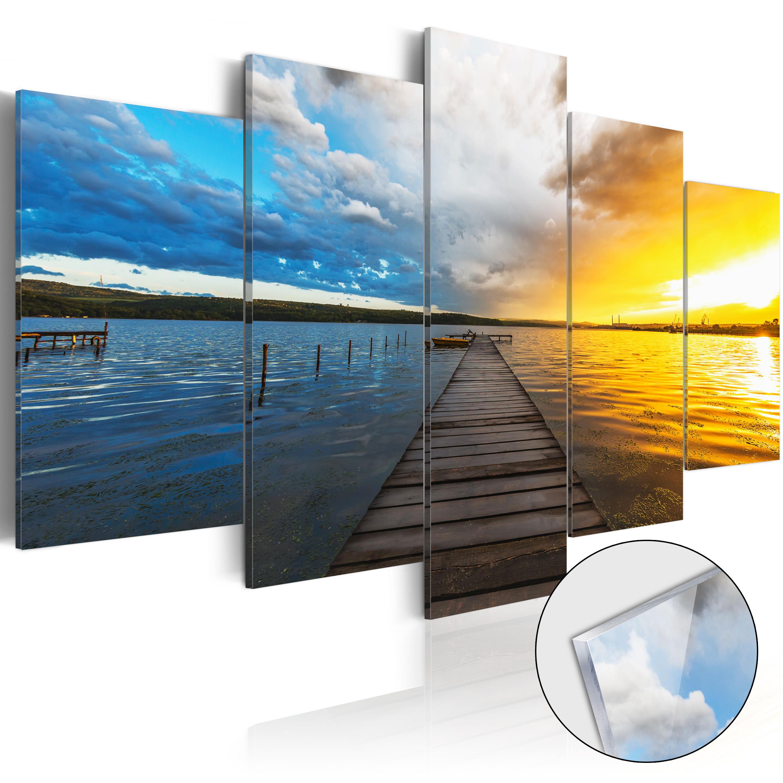 Quadri su vetro acrilico - Lake of Dreams [Glass] 100X50 cm
