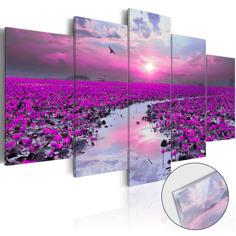 Quadri su vetro acrilico - The River of Magic [Glass] 100X50 cm