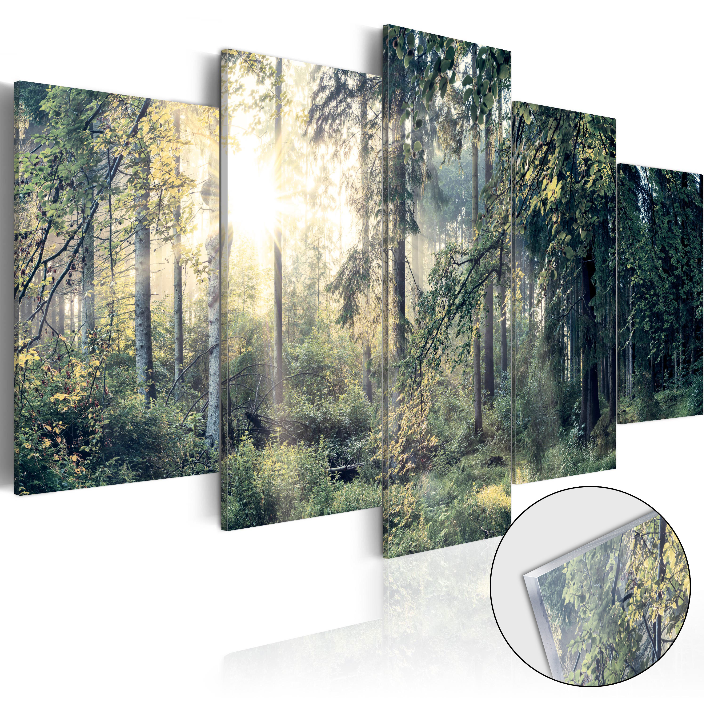 Quadri su vetro acrilico - Fairytale Landscape [Glass] 100X50 cm