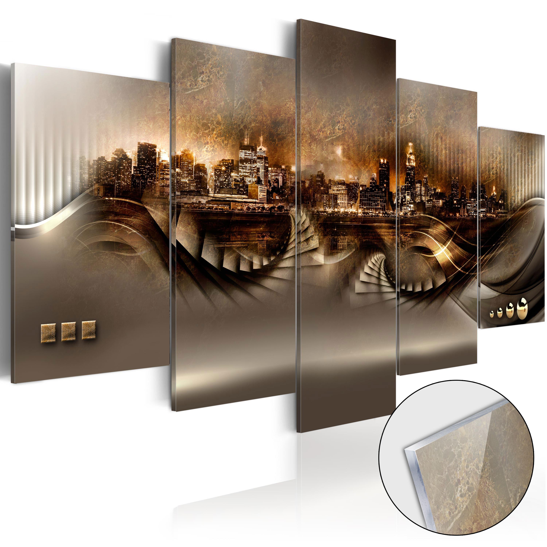 Quadri su vetro acrilico - Lost City [Glass] 100X50 cm