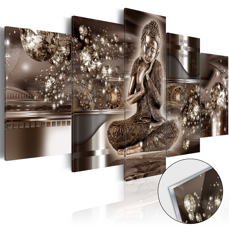 Quadri su vetro acrilico - Inner Harmony [Glass] 100X50 cm